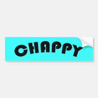 Chappyバンパーステッカー バンパーステッカー