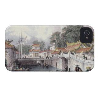 Chapro、c.1850 (cの川上の古代橋 Case-Mate iPhone 4 ケース