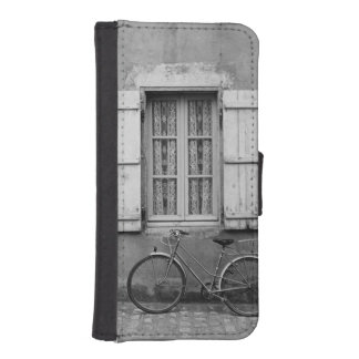 CharentesのバイクMarans iPhoneSE/5/5sウォレットケース