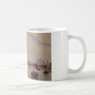 Charingの十字橋、カミーユ・ピサロ著ロンドン コーヒーマグカップ