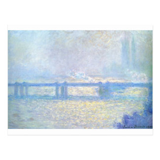 Charingの十字橋、クロウド著曇た天候 ポストカード