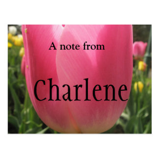 Charlene ポストカード