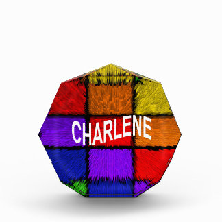 CHARLENE 表彰盾