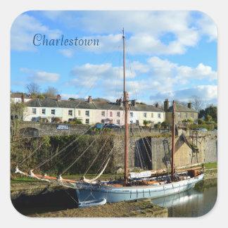 Charlestown港コーンウォールイギリス スクエアシール