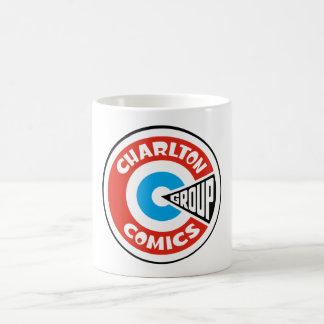 Charltonの漫画のグループの中心点 コーヒーマグカップ