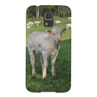 Charolaisの子牛 Galaxy S5 ケース