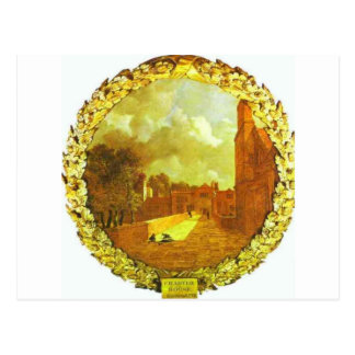 Charterhouse、トマス・ゲインズバラ著ロンドン ポストカード