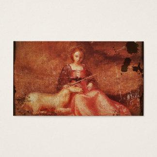 Chastity Holding Unicorn女性 名刺