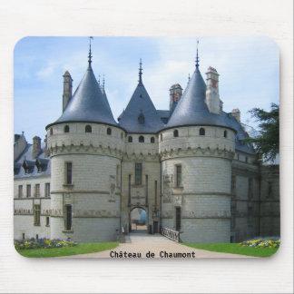 Château deショーモンのsurロアール マウスパッド