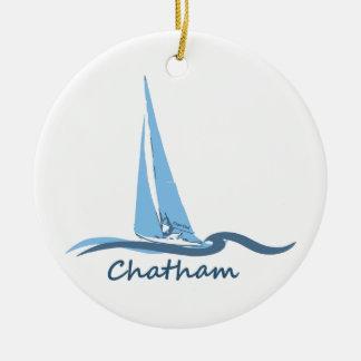 Chatham -ケープコッド セラミックオーナメント
