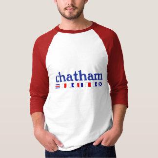 Chatham、MA - Maritmeのスペリング Tシャツ