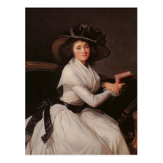 ChâtreのルイーズElisabeth Vigee Le Brun- Countess ポストカード
