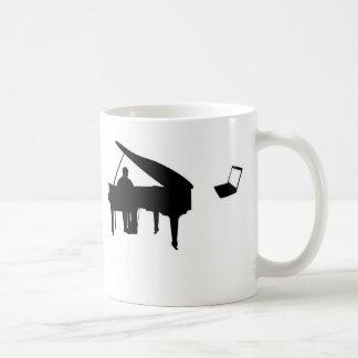 CHATROULETTEのピアノIMPROV コーヒーマグカップ