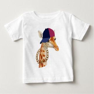 Chavingキリンのロンドンのロンドンっ子の俗語あります ベビーTシャツ