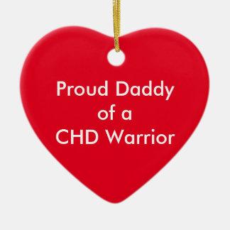 CHDのお父さんのオーナメント セラミックオーナメント