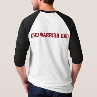 CHDの認識度はTachy CHDの戦士のパパのワイシャツではないです Tシャツ