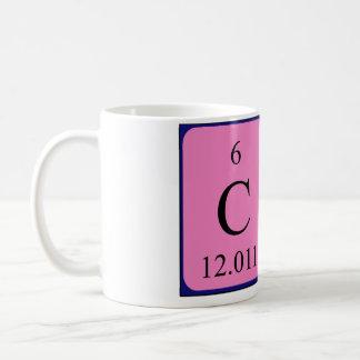 Cheの周期表の名前のマグ コーヒーマグカップ