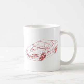 Che Camaro 1996 Z28 コーヒーマグカップ