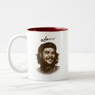"""Che Guevaraのスマイル""""応援"""" ツートーンマグカップ"""