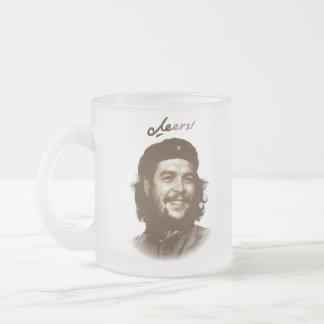 """Che Guevaraのスマイル""""応援"""" フロストグラスマグカップ"""