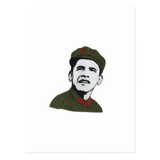 Che Guevaraのデザインとしてオバマ ポストカード