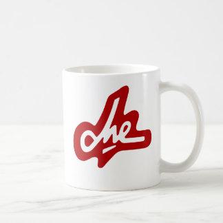 Che Guevaraの赤い署名のコーヒー・マグ コーヒーマグカップ