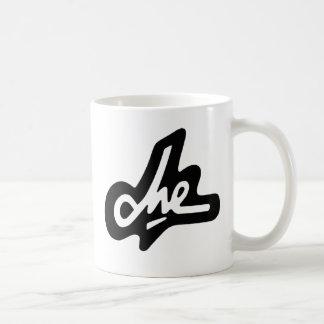 Che Guevaraの黒い署名のコーヒー・マグ コーヒーマグカップ