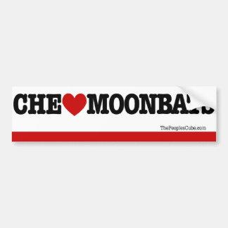 Che Guevara - CheのハートMoonbats: バンパーステッカー