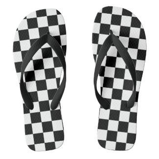 Checkered Flag ビーチサンダル