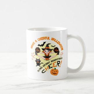 Cheerleader's Halloween Mug コーヒーマグカップ