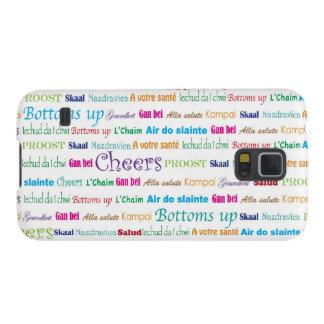 Cheers_Around World_multi-language Galaxy S5 ケース