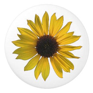 Cheery Yellow Sunflower セラミックノブ
