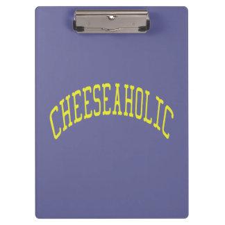 Cheeseaholicのチーズ恋人-青い背景色 クリップボード