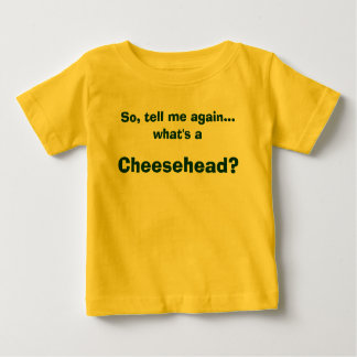 Cheeseheadのベビーのワイシャツ ベビーTシャツ