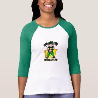 CheeseHeadの女性Tシャツ Tシャツ