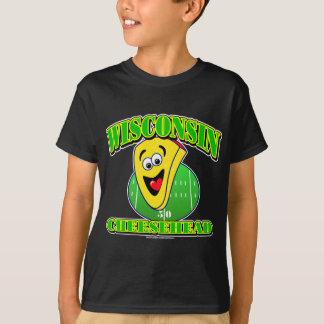 CheeseHeadの漫画 Tシャツ