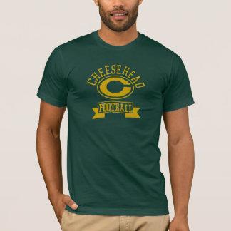 Cheesehead Cのフットボール1 Tシャツ