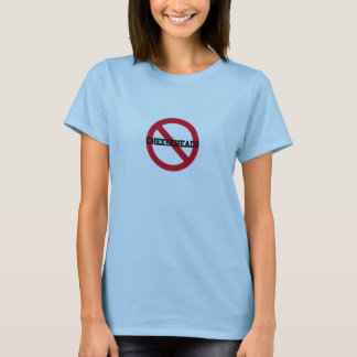 Cheeseheadsの女性無しのTシャツ Tシャツ