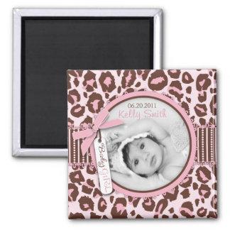 Cheetaの女の子の写真の磁石2 マグネット