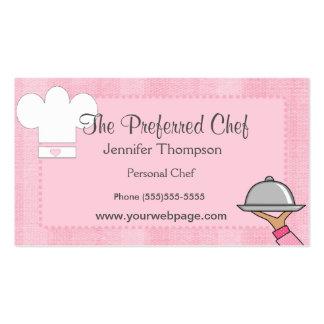 Chef女性名刺 スタンダード名刺