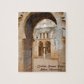 Chellahの古代台なし、モロッコ ジグソーパズル