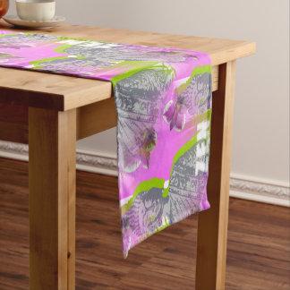 Chemin de table de 35,5 cm x 183 cm Zen Bouddha ショートテーブルランナー