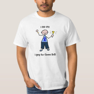 Chemo鐘-結腸癌の人 Tシャツ