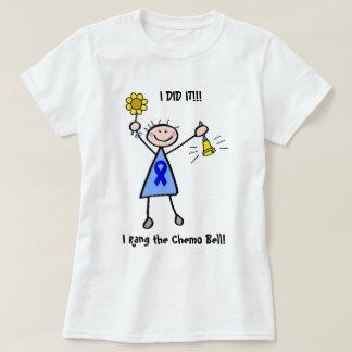 Chemo鐘-結腸癌の女性 Tシャツ