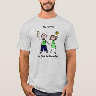 Chemo鐘-肝臓癌の緑のリボンの人 Tシャツ