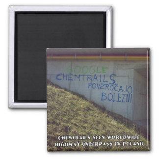 Chemtrailsは世界的です マグネット