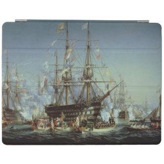 Cherbourg 1858年へのビクトリア女王の訪問 iPadスマートカバー