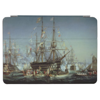 Cherbourg 1858年へのビクトリア女王の訪問 iPad air カバー