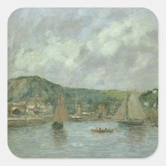 Cherbourg 1883年(キャンバスの油) スクエアシール