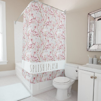 Cherry Blossoms Shower Curtain シャワーカーテン